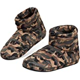 Dunlop Slippers for Men, Fluffy Mens Slipper, Size 7-12, Warm and Cosy Winter House Boots, Funny Presents for Him, 4 to Choos