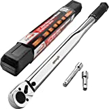 EPAuto 1/2-Inch Drive Click Torque Wrench,25-250 ft.-lb./33.9~338.9 Nm