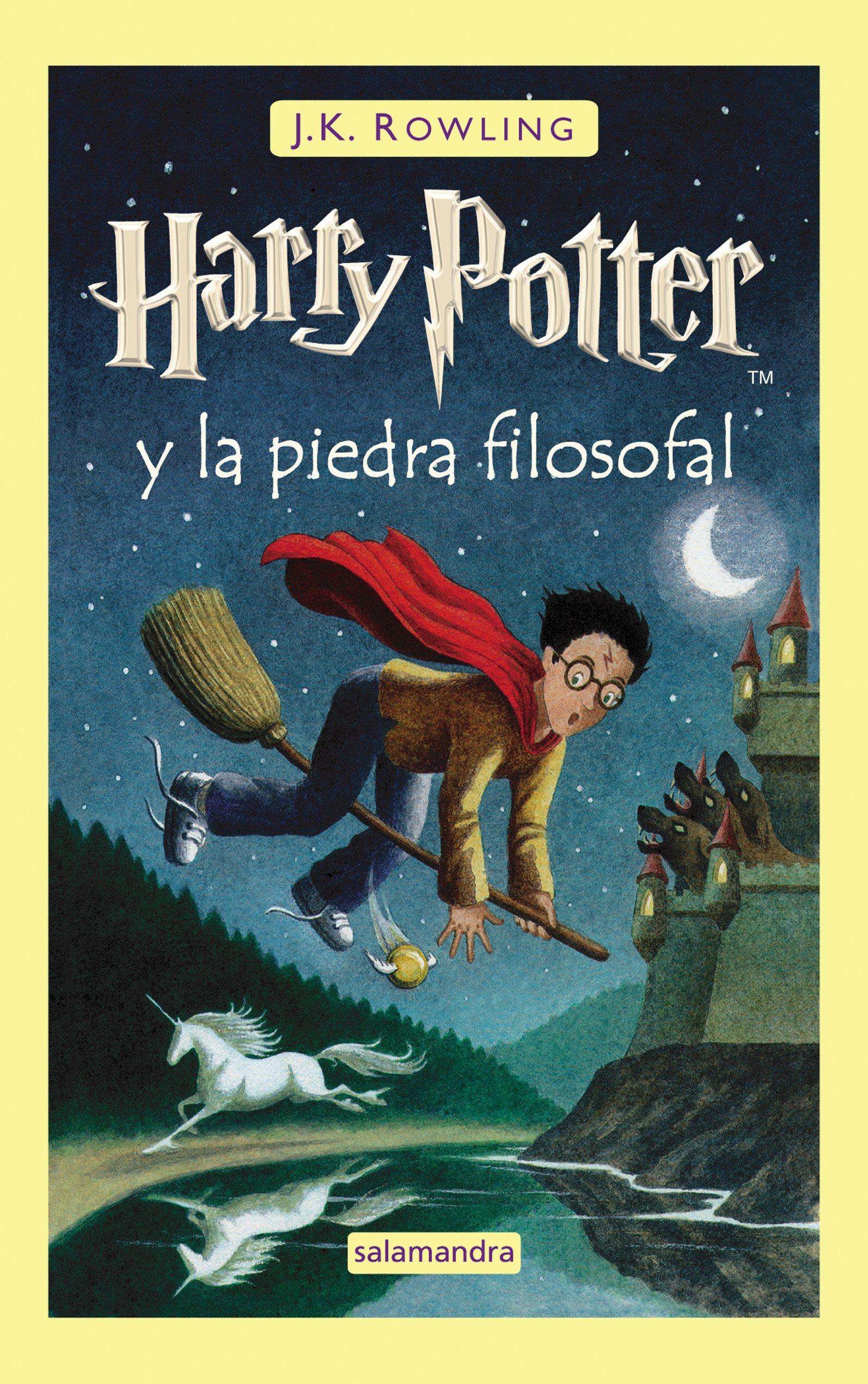91R1AixEiLL - Harry Potter y la Piedra Filosofal: 1