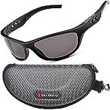 ZILLERATE Occhiali da Sole Sportivi Polarizzati per Uomo e Donna, Ciclismo, Pesca, Golf, Corsa, Guida, Vela, Sci, Protezione