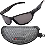 ZILLERATE Polarised Sports Sunglasses for Men & Women, Driving Cycling Golf Fishing Running Sailing Skiing, UV400…