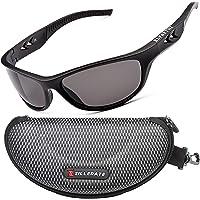 ZILLERATE Occhiali da Sole Sportivi Polarizzati Protezione UV, Montatura in Leggera e Infrangibile – Ciclismo…