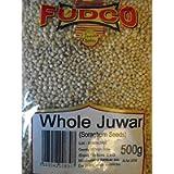 Fudco Whole Juwar (Soraghum) Seeds 500g (Pack of 2)