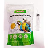 Pets Wizard - Petslife Hand Feeding Formula Baby Bird Food 500 g with 12 ML Curve tip Syringe ( Combo Offer ) (500 Grams with
