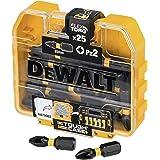 Dewalt DT70556T-QZ DT70556T-QZ-Juego de PZ2 25mm, Geel/Zwart