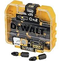 DEWALT DT70556T-QZ Set PZ2 25mm, Multicolore (Nero/Giallo), 2,5 x 5,5 x 3 cm