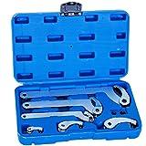 Gelenk Hakenschlüssel Satz 19-121mm Zapfenschlüssel 4-8 Nutmuttern Schlüssel Set