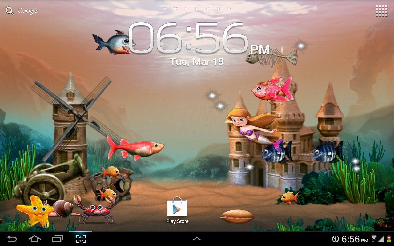 Tap a fish live wallpaper appstore for android for Live fish games