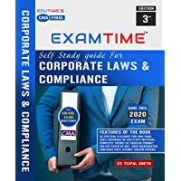 CMA Final Law self study Guide for Corporate Laws & Compliance By Tejpal sheth