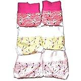 EMY Slip Bimba Mutande in Cotone Vestibilita Ottima Massimo Confort in Diverse Fantasie E Confezione da 6 Pezzi