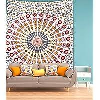 Miyanbazaz Textiles Cotton 130 TC Bedsheet (Twin_Multicolour)
