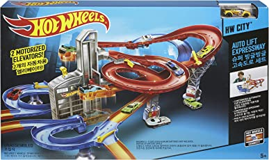 Hot Wheels City Motorized Ra, Multi Color