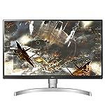 LG 27 inch 4K-UHD HDR 10 Monitor with IPS Panel, HDMI x 2, Display Port, AMD Freesync - 27UK650