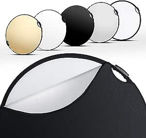 Walimex Pro 5in1 Faltreflektor Wavy Comfort Ø 80cm Set Kamera