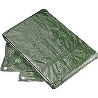 Connex Schutzplane 2 x 3 m - 80 g/m² - Beidseitig beschichtet - Wasserabweisend & UV-stabilisiert - Schimmelresistent…