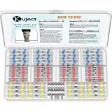 Kuject 120 STKS Soldeer Seal Wire Connectors, Waterdichte Heat Shrink Butt Connector Soldeer Sleeve Self-Soldeer Geïsoleerde