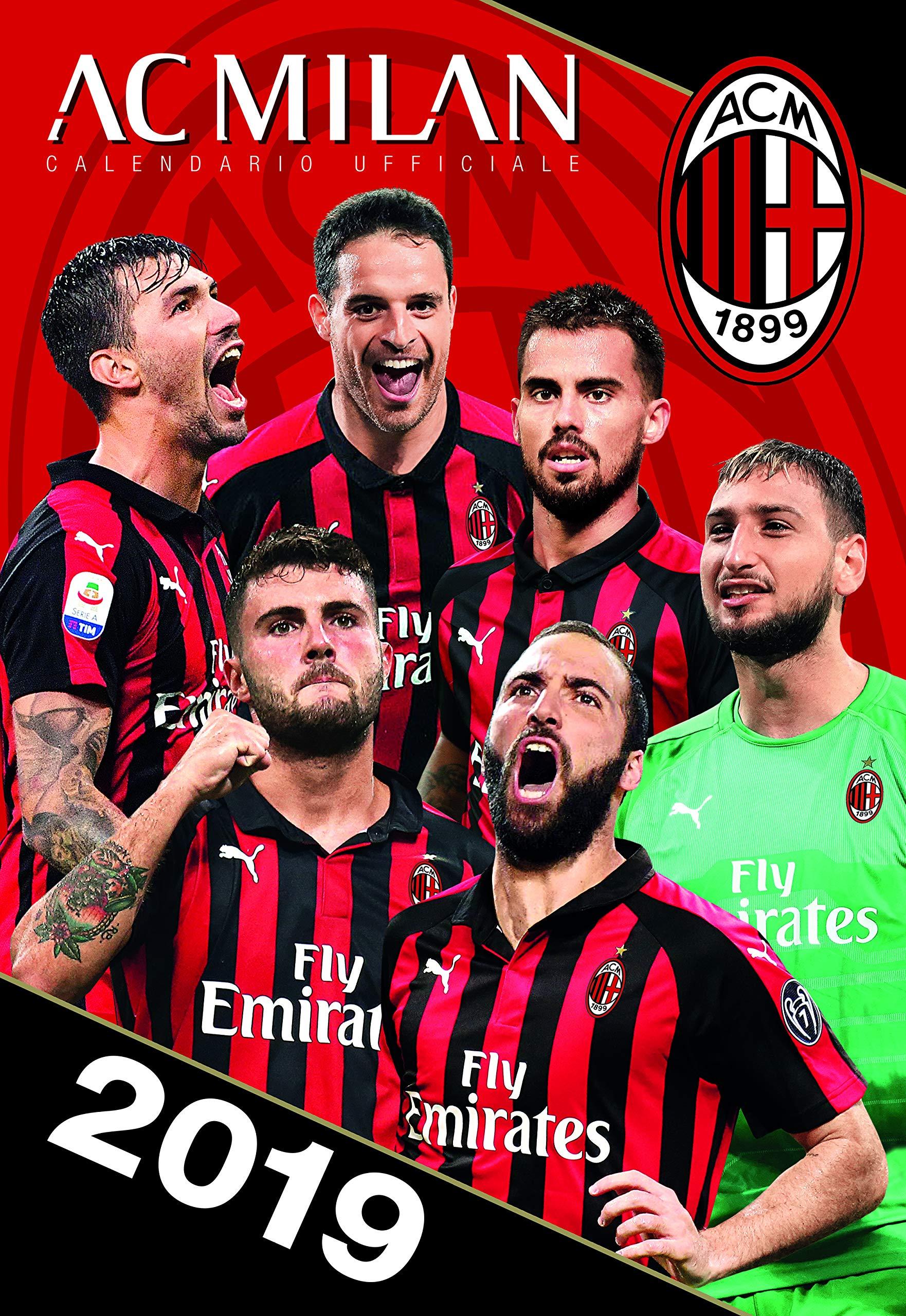 Calendario Ac Milan.Euro Publishing Calendario Milan 2019 Ufficiale 29 X 42 Cm Compra Al Prezzo Migliore