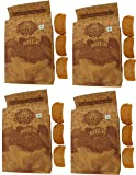 T T Traditionally Handmade Milk Rusk Low Sugar Low Fat (Pack of 4)-300 Gram Each
