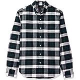 J.Crew Mercantile Men's Slim-fit Long-Sleeve Plaid Oxford Shirt Button