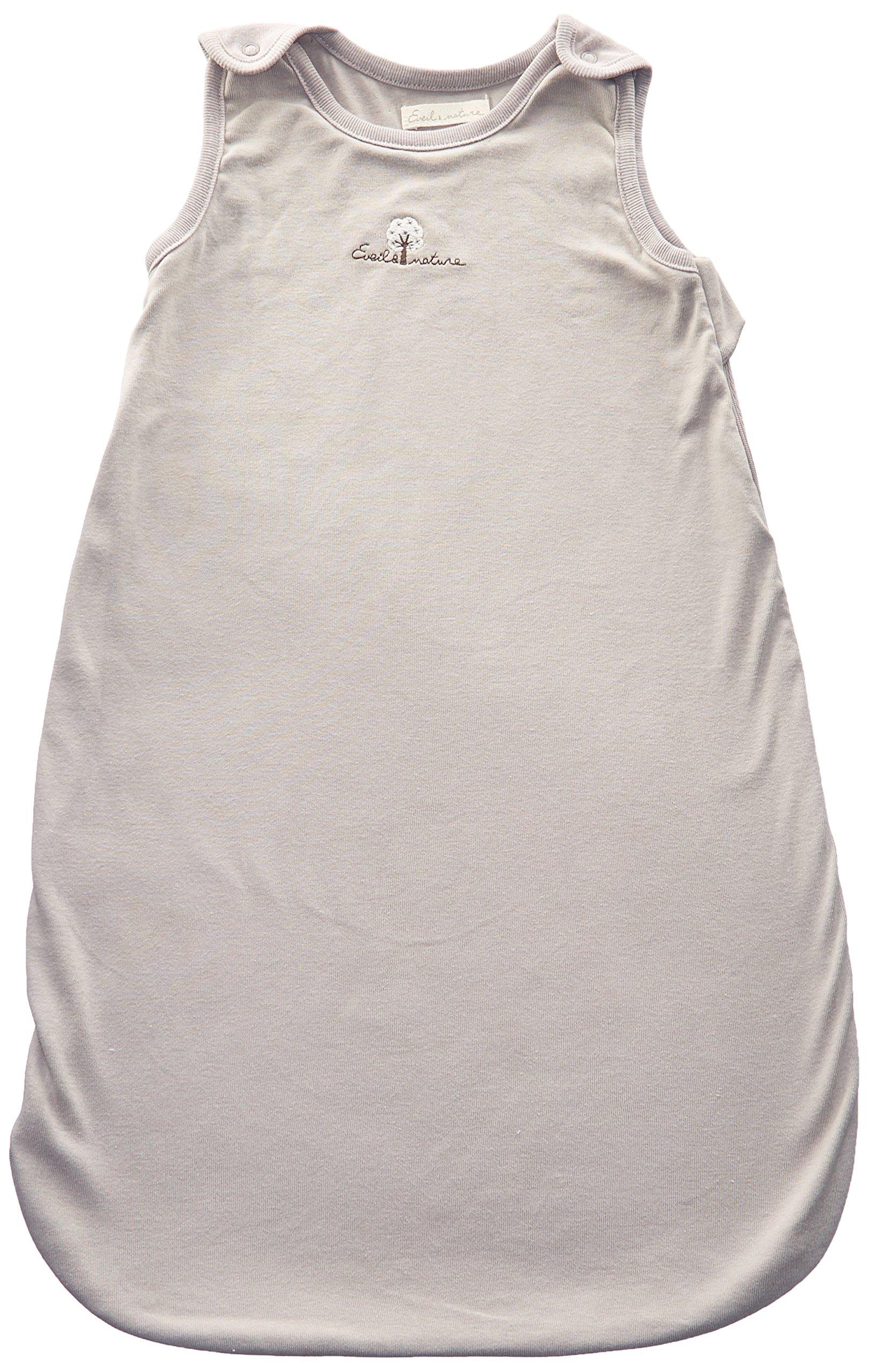 91RXE397tJL - Eveil et Nature - Saco de dormir para bebé (70 cm de verano) color gris