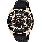 Megir Mens Quartz Watch, Chronograph Display and Silicone Strap - 2056G