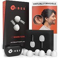 Vibes Hi- Fi Gehörschutzstöpsel - geräuschsreduzierender Schutz für Konzerte, Sportkurse, Motorradfahren, Befindlichkeitsstörungen (Linderung bei Tinnitus & Autismus) - abgebildet wie bei Shark-Tank