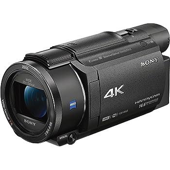 """Sony Handycam FDR-AX53 - Videocámara (Pantalla de 3"""", con Grabación 4K Ultra HD, Lente Zeiss Vario-Sonnar DE 26,8 mm, Zoom óptico de 20x)"""
