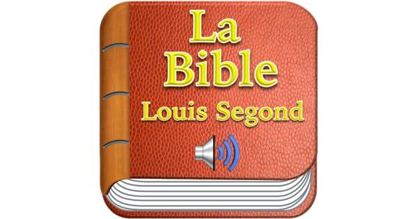 AUDIO SEGOND TÉLÉCHARGER GRATUITEMENT BIBLE LOUIS LA