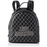Love Moschino Borsa PU, Bolso tipo mochila para Mujer, 25x25x9 centimeters (W x H x L)