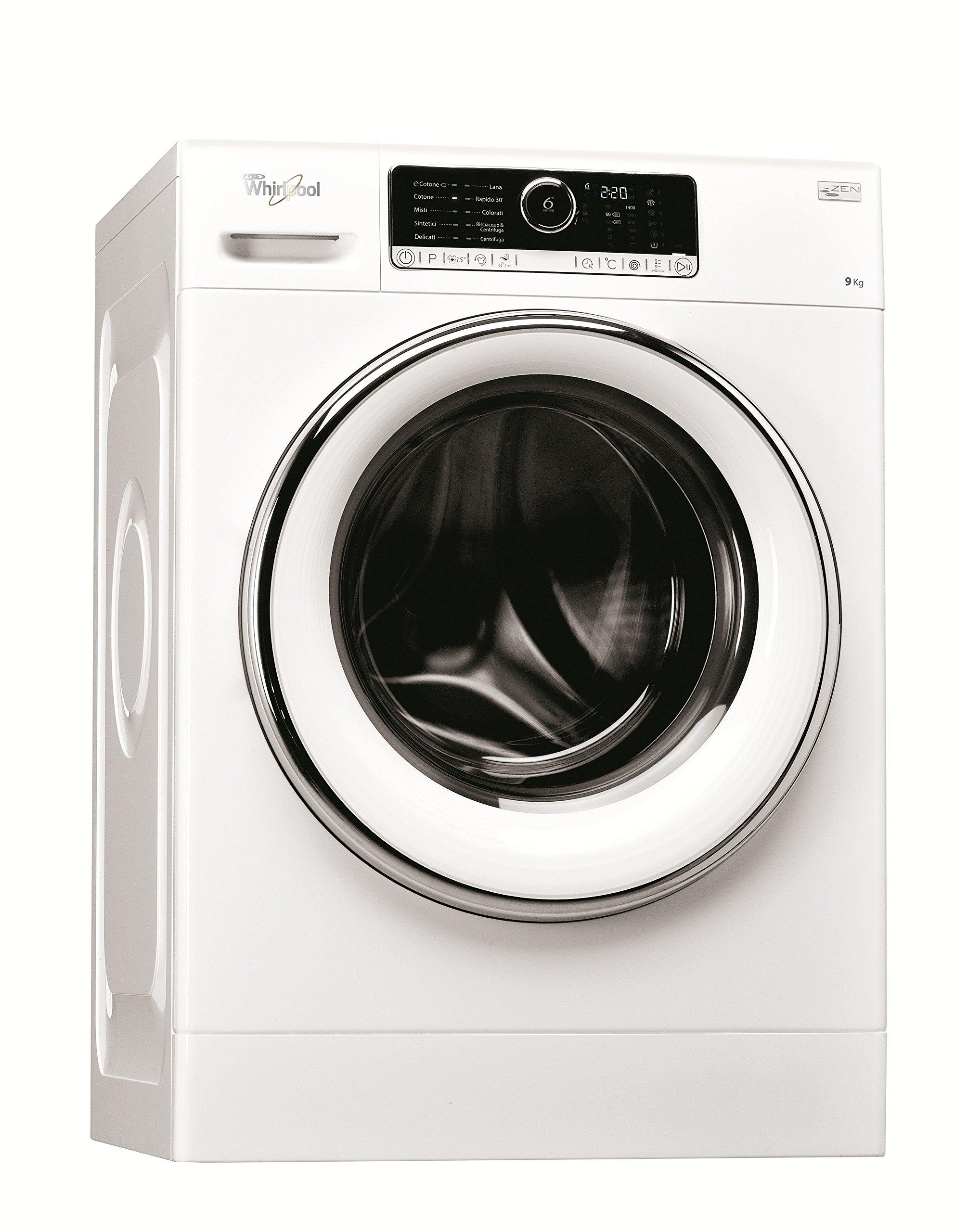 Whirlpool FSCR90421 Freestanding Front-load 9kg 1400RPM A+++-20% White washing machine - washing ma