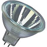 Osram set van 10 Decostar EEK C 51s 12 Volt 35 Watt fitting Gu5,3 36 halogeenlamp met koud licht spiegelreflector en afdekpla