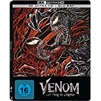Venom: Let There Be Carnage - (4K UHD + Blu-ray Limited Steelbook) exklusiv bei Amazon.de