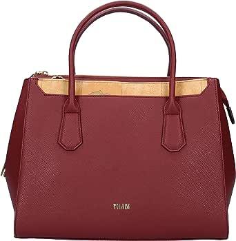 ALVIERO MARTINI Handbag in Pelle Plum