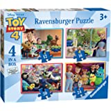 Ravensburger Disney Toy Story 4 - 4 in Box (12, 16, 20, 24 Piece) Jigsaw Puzzles for Kids Age 3 Years and Up