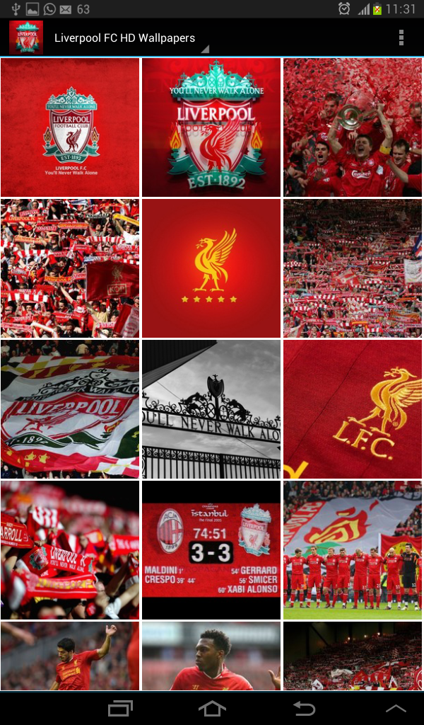 Liverpool FC HD Wallpapers: Amazon.co.uk: Appstore for Android