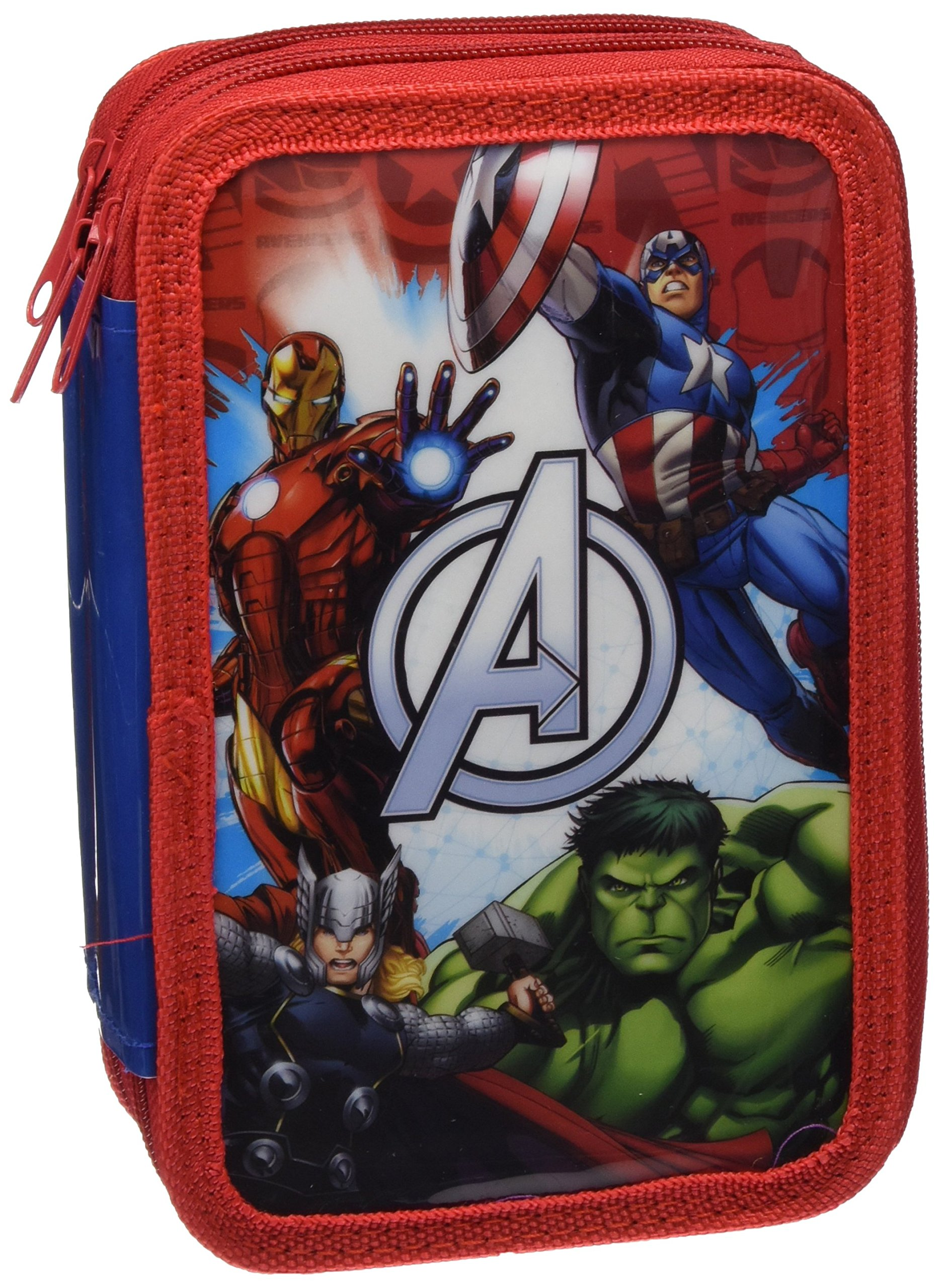 Astro Avengers AS9952 – Plumier con 3 cremalleras