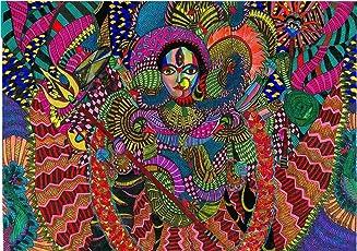 Durga OA (Mixed Media by Malavika Reddy)