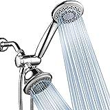 HotelSpa AquaStorm 30-Setting SpiralFlo 3 Way Shower Head