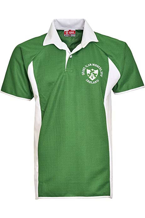 Embroidered Irish Womens Ireland Rugby Polo Shirt 6 Colours