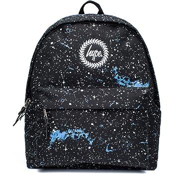 47770543d91e Hype Backpack Rucksack Shoulder Bag - Black with White Speckle - for ...