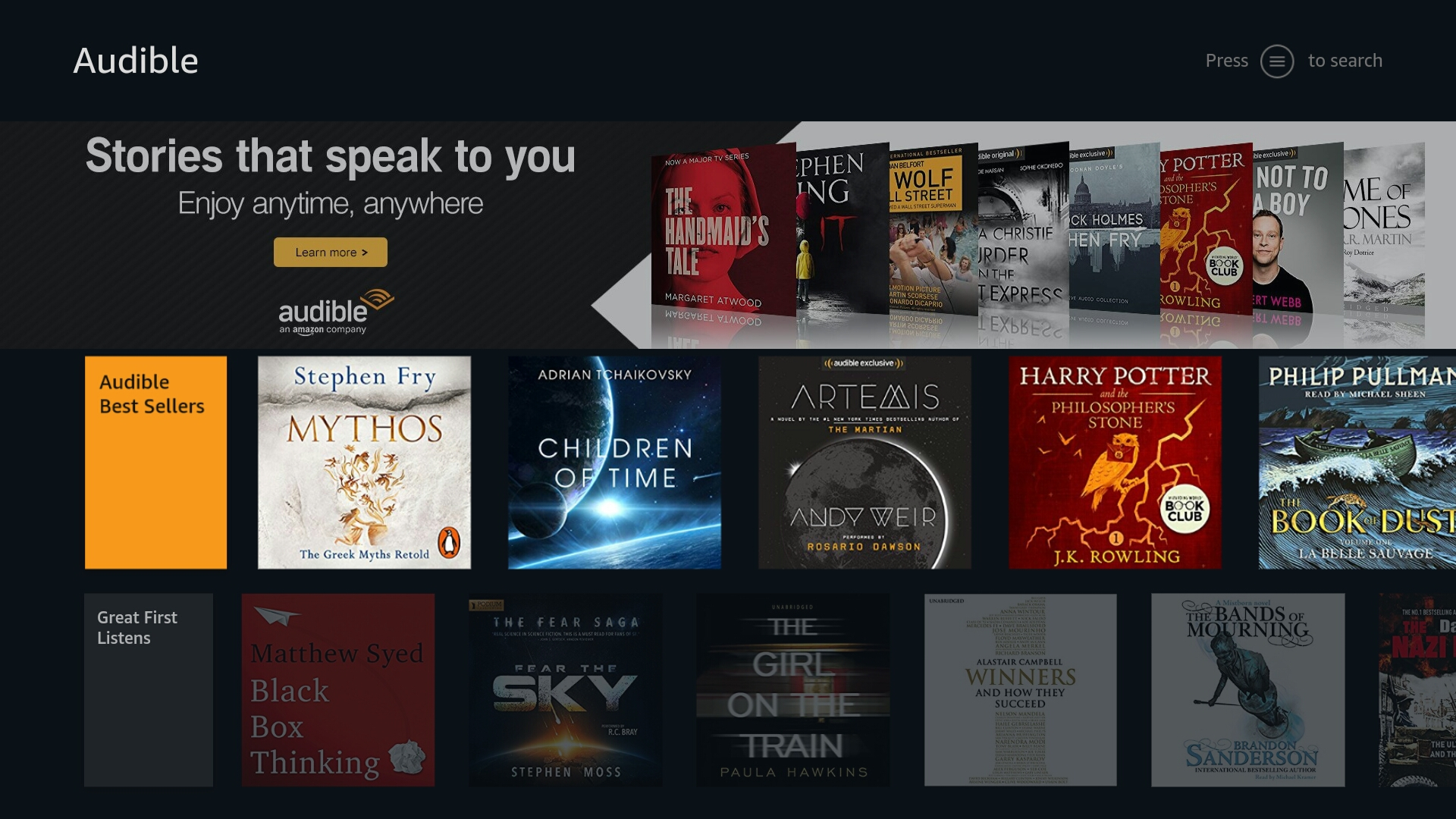 photo Audible Just Made It Way Easier to Listen to Romance Novels