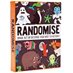 Randomise: The Hilarious Pocketsize Party Game of Drawing, Acting and Describing. The perfect family game, loved by...