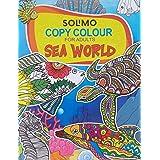 Amazon Brand - Solimo Copy Colour for Adults - Sea World
