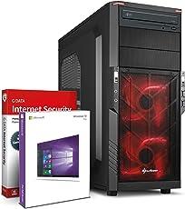 Ultra 8-Kern SSD DirectX 12 Gaming-PC Computer FX 8300 8x4.20 GHz Turbo - GeForce GTX1050 Ti 4GB DDR5-16GB DDR3 1600-240GB SSD - 1000GB HDD - Windows10 Prof - DVD±RW #5705