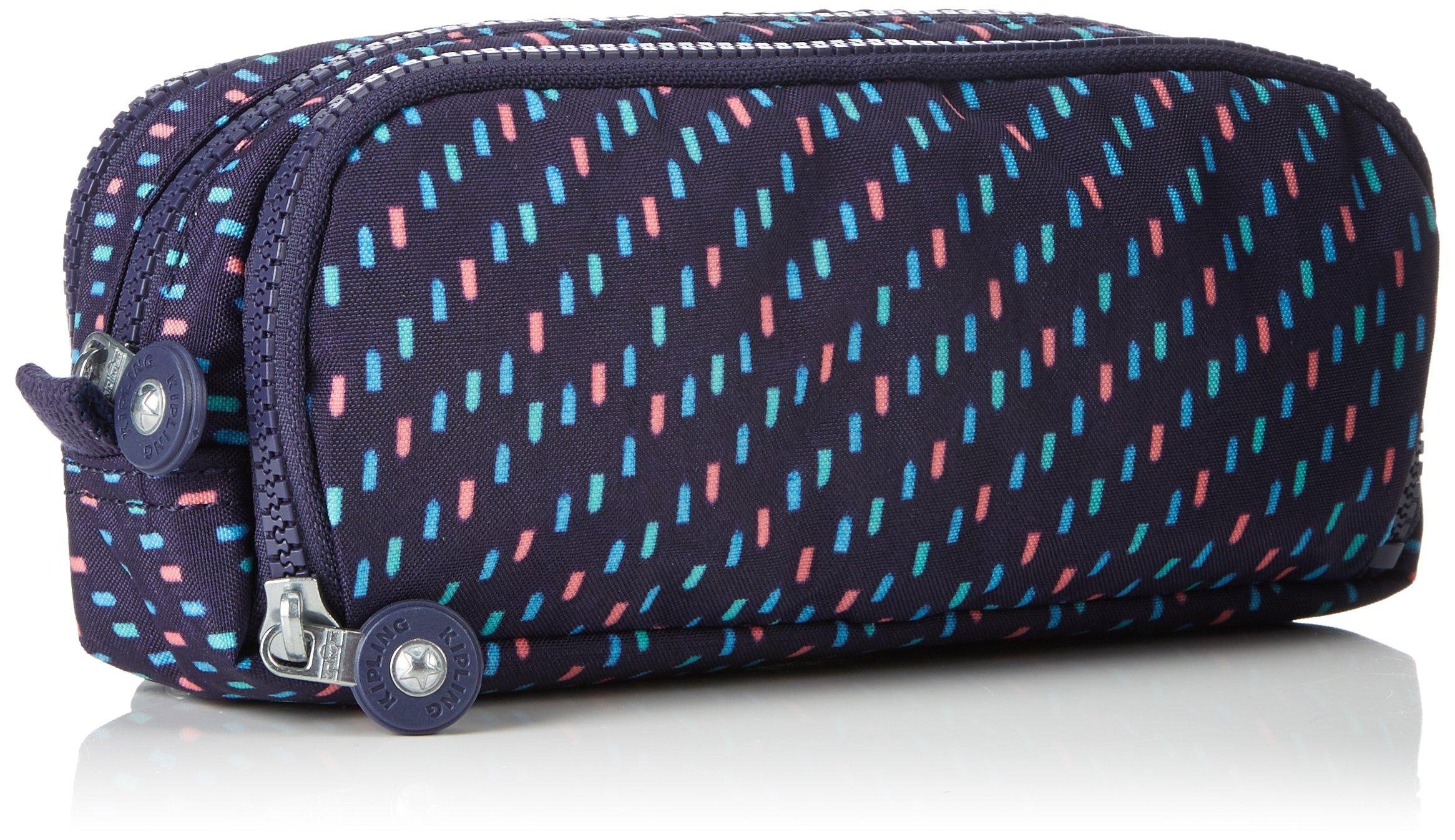 Kipling Gitroy Estuches, 23 cm, 1 liters, Azul (Blue Tan Block)