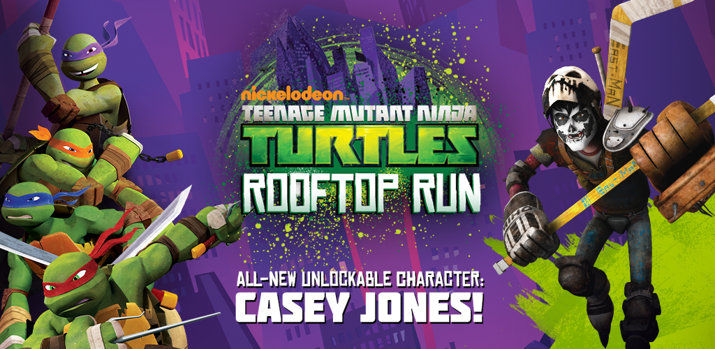 Teenage Mutant Ninja Turtles - Rooftop Run Screenshot