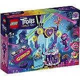 LEGO Trolls - Fiesta de Baile en Techno Reef, Juguete de Construcción Inspirado en la Película de Animación, Incluye Muñecos