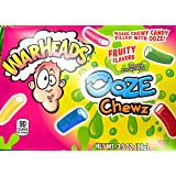 Sour Chewy filled with ooze Warheads Ooze Chewz (1) 3.5oz Box