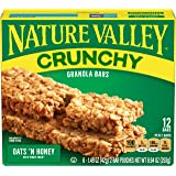 Nature Valley Crunchy Granola Bars Oats and Honey, 12 x 21g