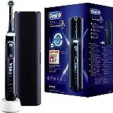 Oral-B Genius X Zwarte Elektrische Tandenborstel, 1 Premium Handvat Met Artificiële Intelligentie, 1 Opzetborstel, 1 Reisetui